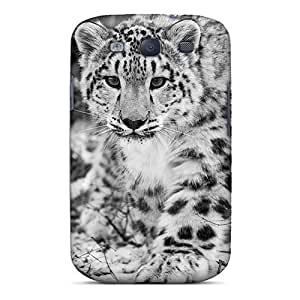 Premium Protection The Snow Leopard Case Cover For Galaxy S3- Retail Packaging by Maris's Diary