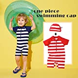 Baby Swimsuit Stripes Printed Swimwear Bathing