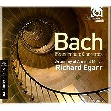 BACH. Brandenburg Concertos. AAM/Egarr (SACD)
