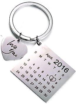 "Keyring /""key to the door/' Gift Purple Personalised 21st Birthday Gift"