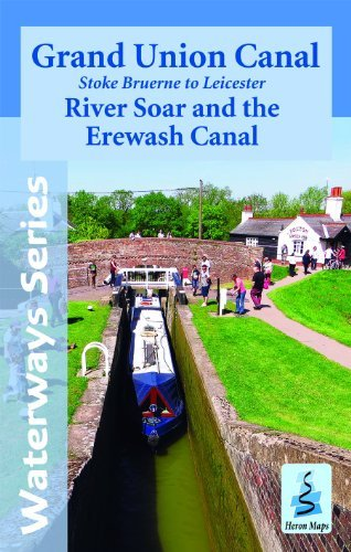 Grand Union Canal - Stoke Bruerne to Leicester with the River Soar and the Erewash Canal by Heron Maps (2014-03-21) ()