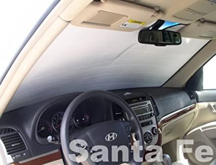 Image Unavailable. Image not available for. Color  Sunshade compatible with Hyundai  Santa Fe 2007 ... fb53d9bb62a