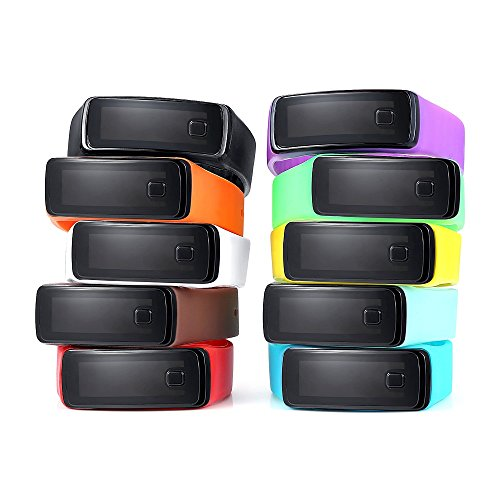 Digital 5 Sport Jelly (Navion Upgrade Button LED Screen Jelly Silicone Digital Sports Watch Wholesales 10 Pcs)