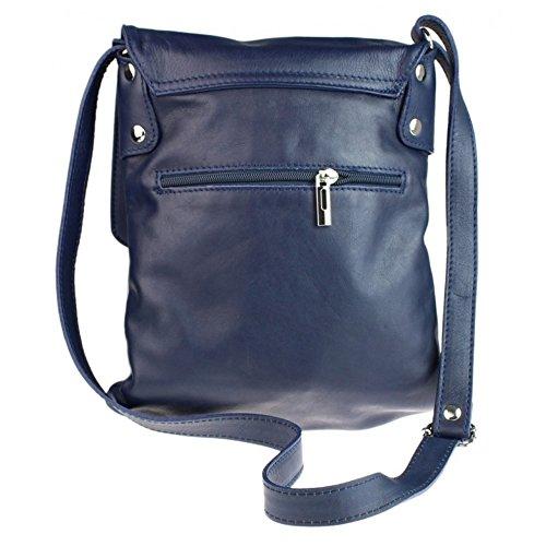 Navy hand bags Verapelle Cross body BagsBranded Ladies Messenger London Verapelle Genuine Craze Verappele Womens Large Leather Bag Italian TZnaO