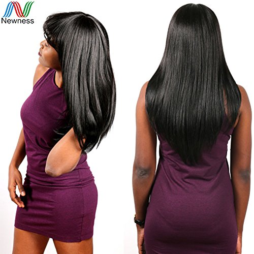 Newness Factory Supplier 6A Indian Virgin Hair Straight Soft Natural Black Unprocessed Virgin Indian Hair Cheap Human Hair Weave 3 Pcs