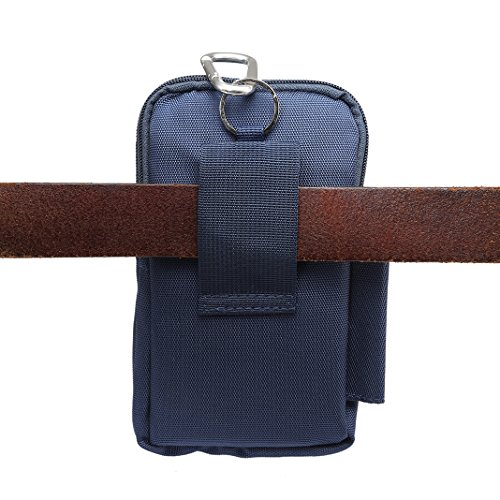 Bolsa Poliéster Cintura de estuche Rosa hombre bandolera de Azul de correa Schleife Bolso P5vq8xwx