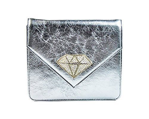Accessories Argento Donna Diamante Borsa Antico By Con Collezione Accessorio Laino Pochette Industry Fashion OT4wq8R4g