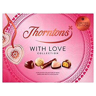 "Thorntons ""With Love'' Chocolate Collection Gift Box 180g: Amazon.co.uk: Grocery"