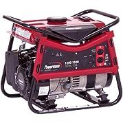 Powermate PM0101207, 1200 Running Watts/1500 Starting Watts, Gas Powered Portable Generator