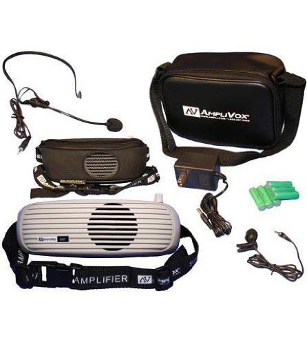AmpliVox S207 BeltBlaster PRO Personal Waistband Amplifier, 5 Watts, 1 1/2 lbs