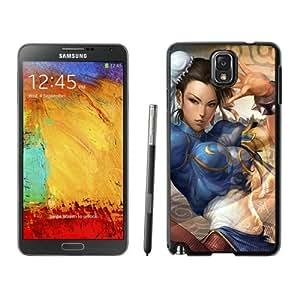 Fashion Custom Designed Chun Li Samsung Galaxy Note 3 Black Phone Case CR-122