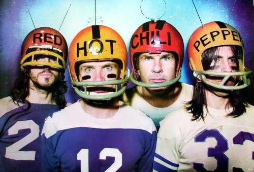 """J-1932 The Red Hot Chili Peppers American Rock Band Formed in Los Angeles Music Wall Decoration Poster Size 35""""x24"""""""