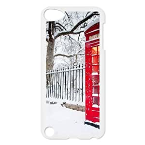 iPod 5 White Phone Case British Red Phone Booth Rational Cost-effective Surprise Gift Unique WIDR8611000183