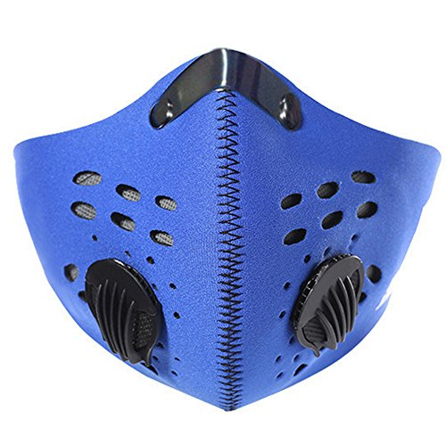 [Ezyoutdoor Bike Anti-dust Half Face Mask Carbon Filter Activated Carbon Filtration with Filter Neoprene for Cycling Ridding Motorcycle Outdoor Activities Size] (Rebel Snow White Adult Womens Costumes)