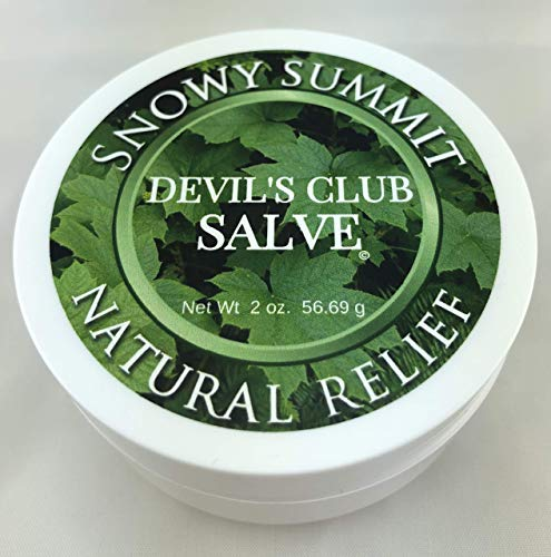 Devil's Club Salve Snowy