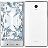 白ロム SoftBank AQUOS CRYSTAL 305SH ホワイト