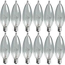 GE Lighting Crystal Clear 24782 40-Watt 370/280-Lumen Bent Tip  sc 1 st  Amazon.com & Amazon.com: GE Lighting azcodes.com