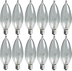 GE Lighting Crystal Clear 24782 40-Watt,...