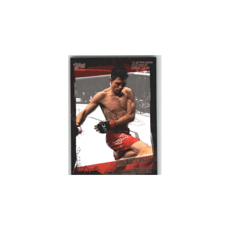 2010 Topps UFC Trading Card # 38 Carlos Condit (Ultimate Fighting