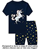 Little Pajamas Sleepwear 100% Cotton Summer Short Toddler Pjs Clothes Shirts Size 4T