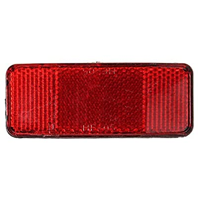 Bike Reflector Lamp - SODIAL(R)Bike Safety Rear Lamp Reflector Highly Light Cycling Accessories