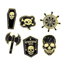 Cute Cartoon Brooch Pins Enamel Brooches Lapel Pins Badge Women Clothing Bag Decor