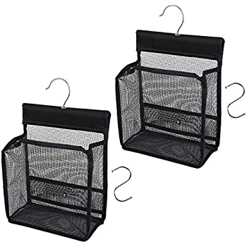 Amazon.com: FishMM Hanging Mesh Shower Caddy College with