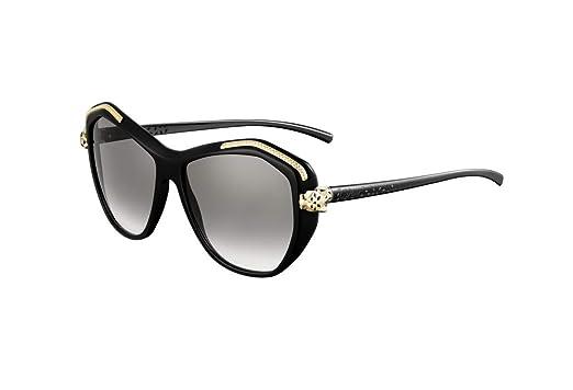 95413afc49c6f Cartier - Panthere Wild de Cartier - Daring - Woman Black Sunglasses ...