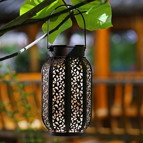 Maggift-12-Lumens-Hanging-Solar-Lights-Outdoor-Retro- & Maggift 12 Lumens Hanging Solar Lights Outdoor Retro Hanging Solar ...