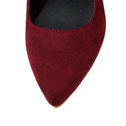 Fashion Heel - Zapatos de tacón  mujer granate