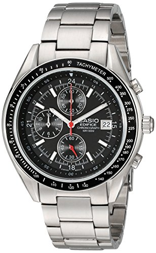 "Casio Men's EF503D-1AV ""Edifice"" Stainless Steel Watch"