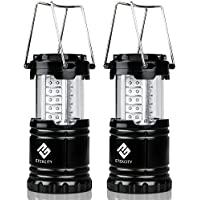 2-Pack Etekcity Portable Outdoor LED Camping Flashlights