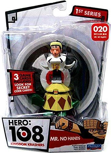 Playmates Hero 108 Kingdom Krashers Series 1 Mr No Hands Action Figure #020