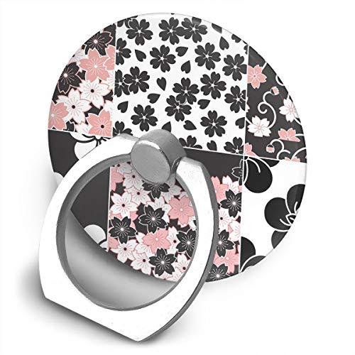 Scout Flower Ring - Cell Phone Finger Ring Holder Sakura Flower Pattern 360 Degree Rotating Stand Grip Mount Phone Bracket