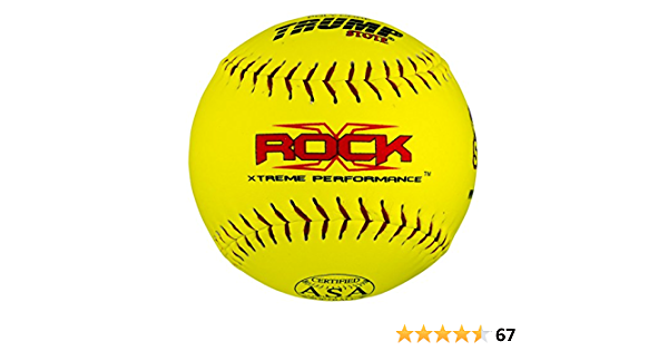 "Trump Stote ROCK Xtreme Performance ASA Softballs 11/"" .375 .44COR NEW Lot of 12"