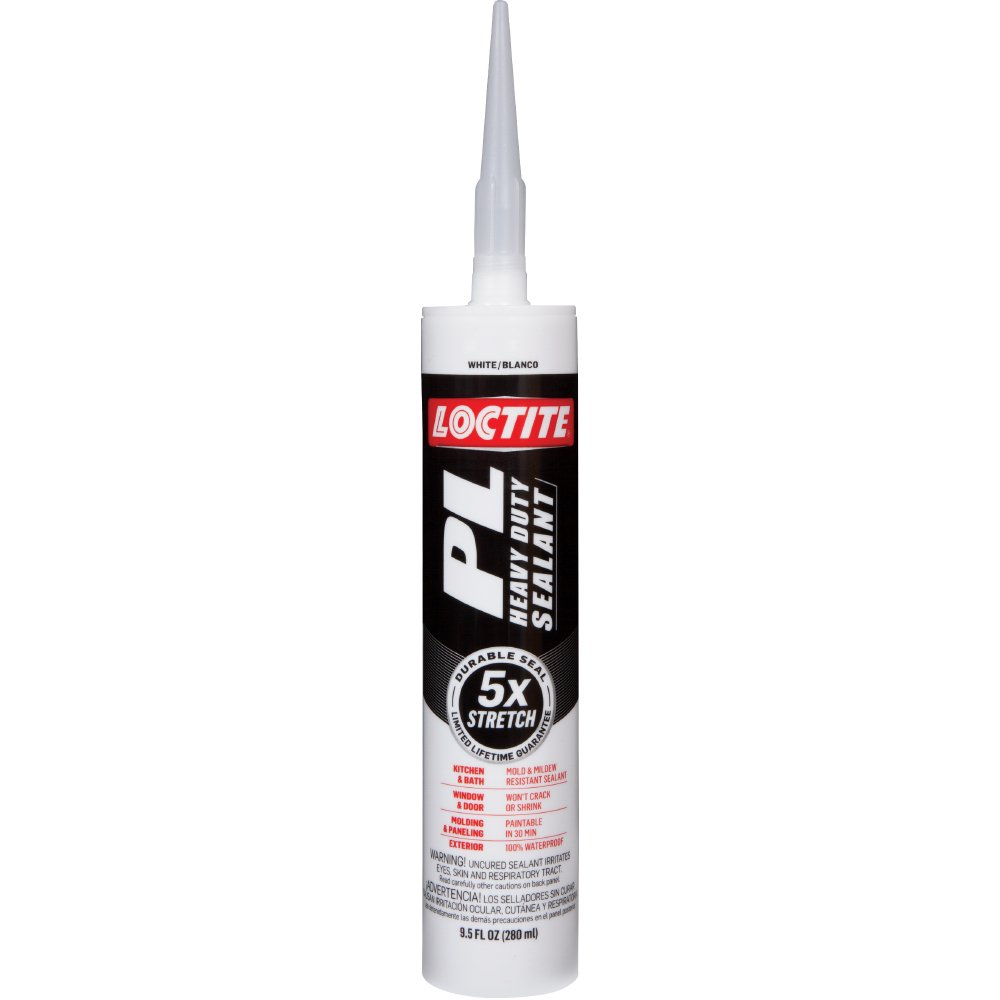 Loctite PL Heavy Duty Sealant, 9.5-Ounce Cartridge, 12-Pack (2141743-12)