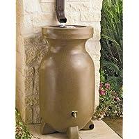 Koolscape 75-Gallon Sandstone Decorative Rain Barrel