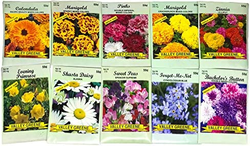 Valley Green Flower Packets Seeds product image