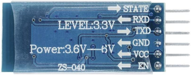 DANDANdianzi HC-05 Wireless Module Anti-R/ückw/ärts-HF-Transceiver Wireless-Bluetooth Serial Brett