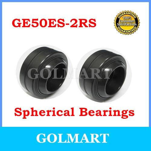 Fevas 50mm Spherical Bushing Plain Bearing GE50ES-2RS 50mmX75mmX35mmX28mm
