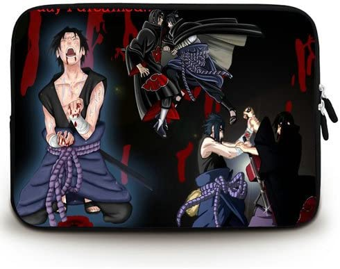 Amazon Com Laptop Sleeve With Uchiha Sasuke Vs Uchiha Itachi Wallpaper Hd Backgrounds Download Patterns Waterproof Canvas Fabric 17 17 3 Inch Laptop Bag Case Cover Twin Sides Computers Accessories