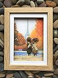 Paris in the Autumn - - Handmade Pebble Art Picture