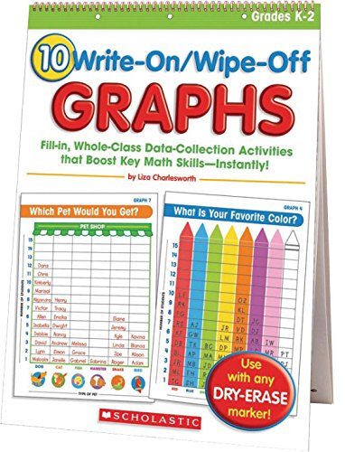 (Scholastic Write On/Wipe Off Graphs Flip Chart)