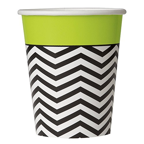 Costumes Trash Party White Best (9oz Designer Chevron Party Cups,)