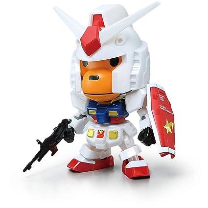 Bandai A Bathing Ape BAPE Baby Milo x Gundam RX-78-2 SD EX-Standard IN STOCK