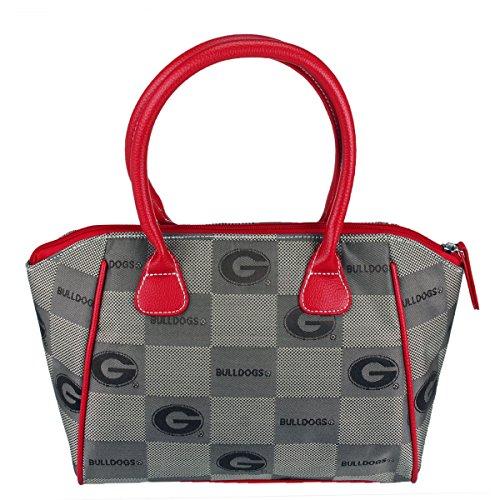 GEORGIA BULLDOGS UGA Signature Line Tote Handbag Style 8498