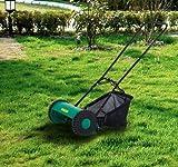 Adjustable Classic Reel Mower Grass Catcher 5 Blade Hand Push #MHC02