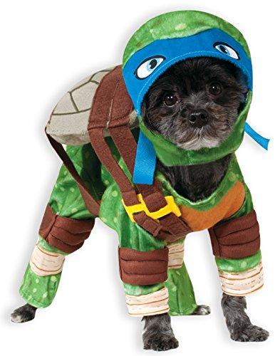 Rubie's Teenage Mutant Ninja Turtles Leonardo Pet Costume, Medium]()