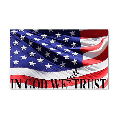 "CafePress IN GOD WE Still TRUST - Car Magnet, 20""x 12"" Magne"