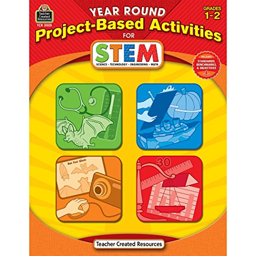 Year Round Project-Based Activities for STEM Grd 1-2